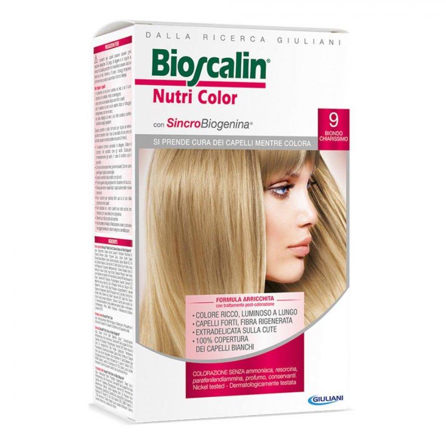 Bioscalin Nutri Color 9 BIONDO CHIARISSIMO