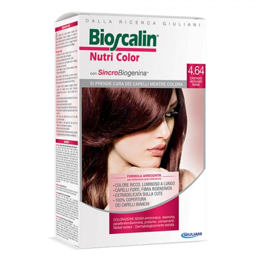 Bioscalin Nutri Color 4.64 CASTANO MOGANO MARE