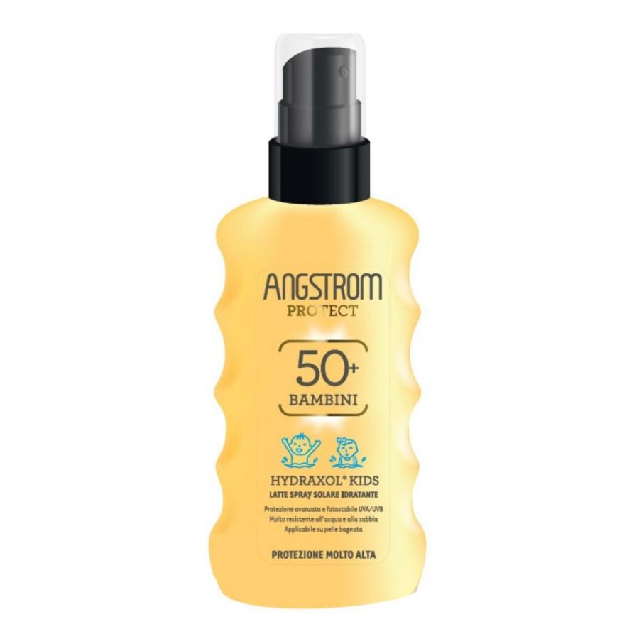 PERRIGO ITALIA Srl Angstrom Protect Hydraxol Bambini Latte Spray Solare SPF50+ 175ml