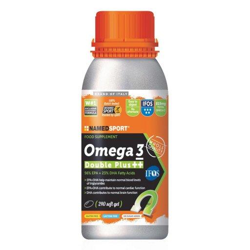 Named - Omega 3 Duble Plus +++ - 240 Capsule - Integratori Alimentare  Per Lo Sport
