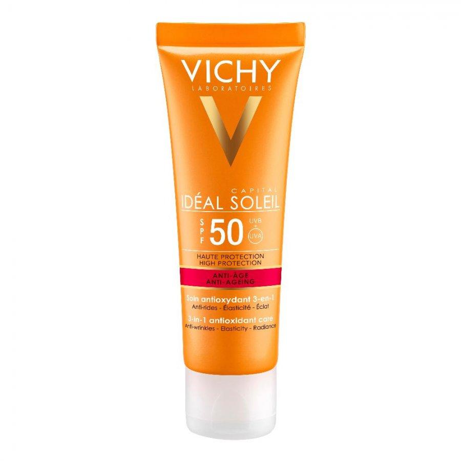 VICHY (L'OREAL ITALIA SPA) Vichy Solari Linea Ideal Soleil Crema Viso Anti Età SPF50 50ml