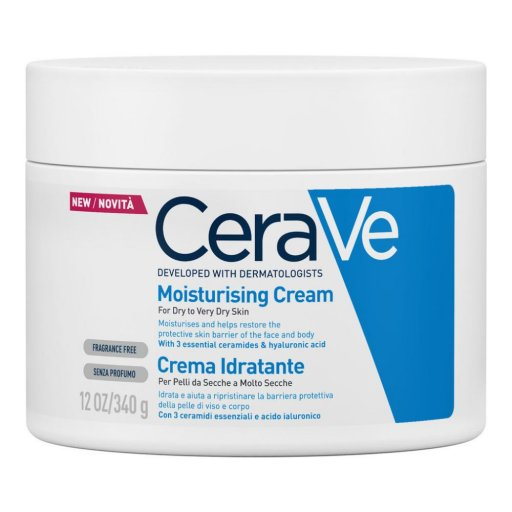 CeraVe - Crema Corpo Idratante - Pelle Molto Secca  - 340g