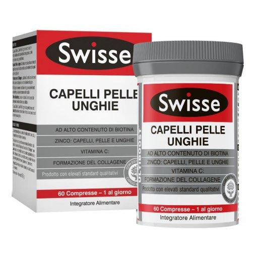 Swisse Capelli Pelle Unghie - 60 Compresse