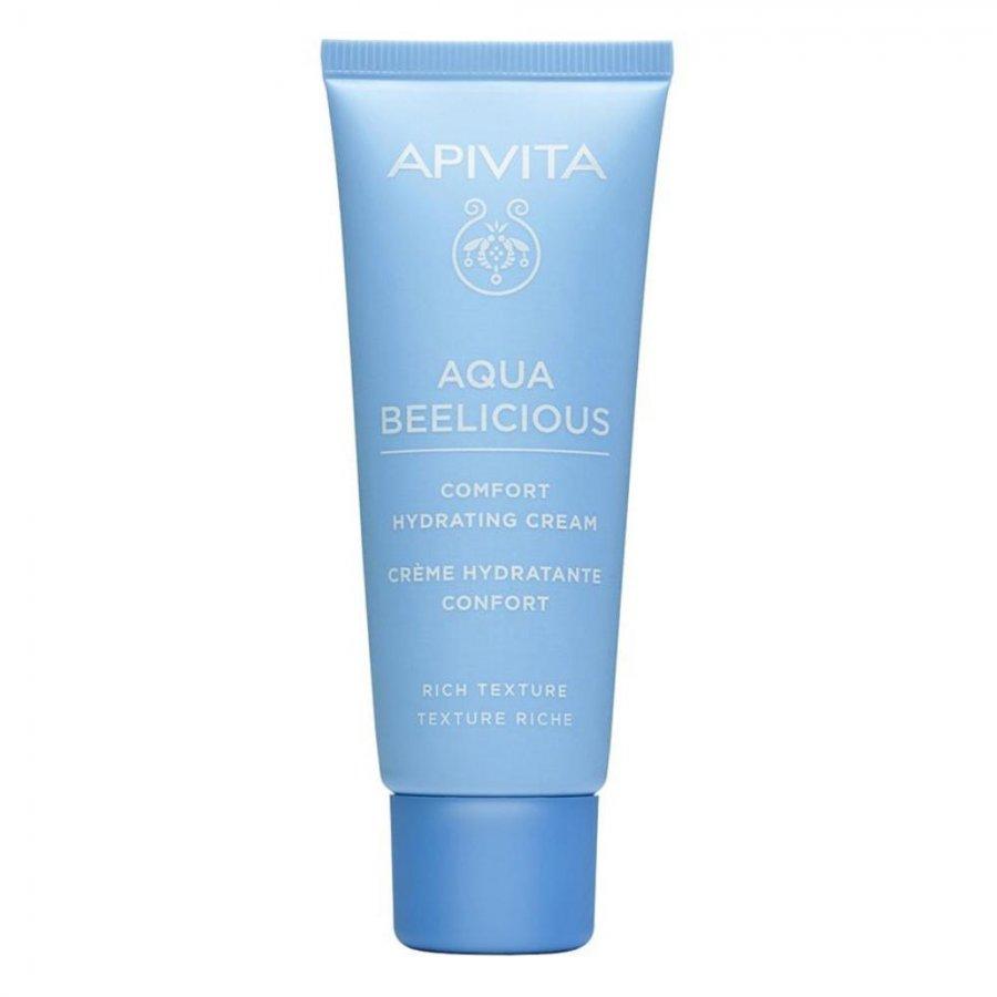 Apivita  Aqua Beelicious - Crema Comfort Idratante Texture Ricca, 40ml
