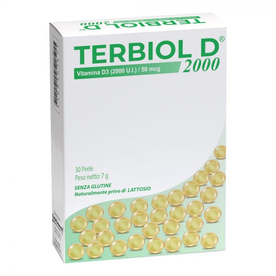 TERBIOL D2000 30 Cps Softgel