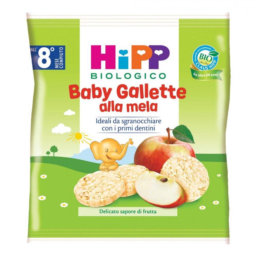 HIPP BIO BABY GALLETTE MELA30G