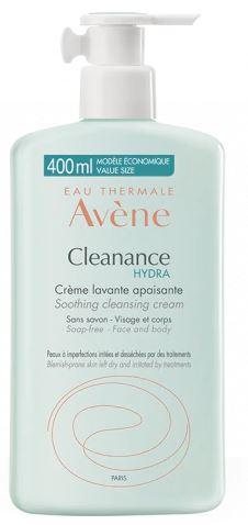 Avene Cleanance Hydra Crema Detergente Lenitva 400ml