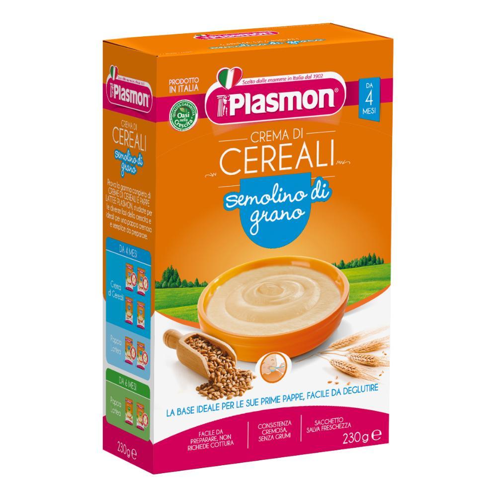 PLASMON Cereali Semolino Grano 230g